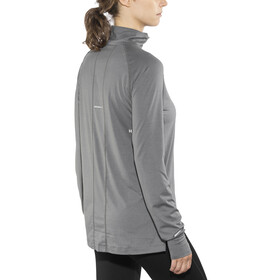 asics Thermopolis LS 1/2 Zip Top Women Carbon Heather